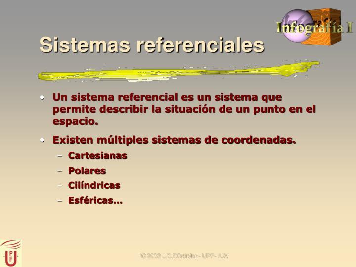 Sistemas referenciales