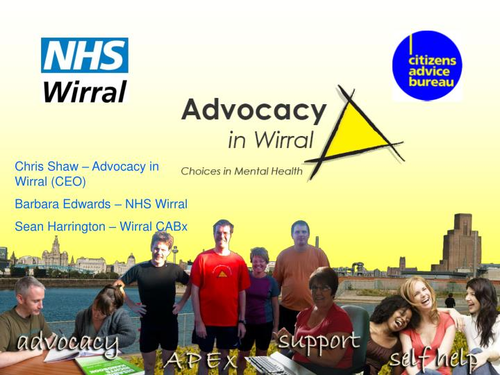 Chris Shaw – Advocacy in Wirral (CEO)