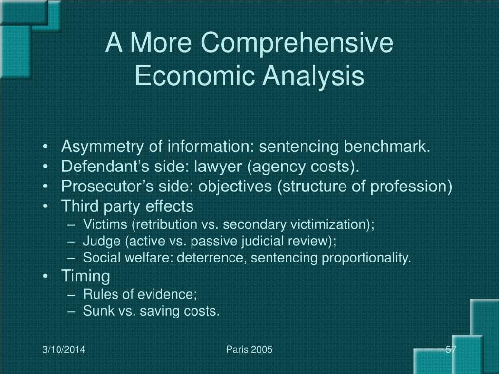 A More Comprehensive Economic Analysis
