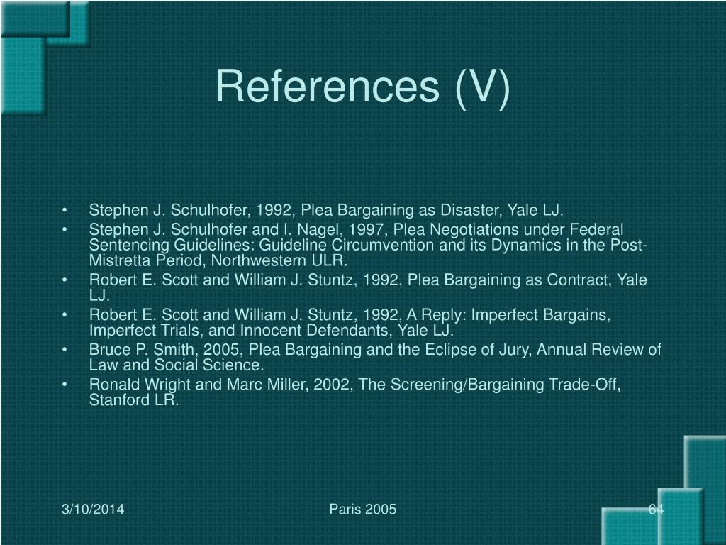 References (V)