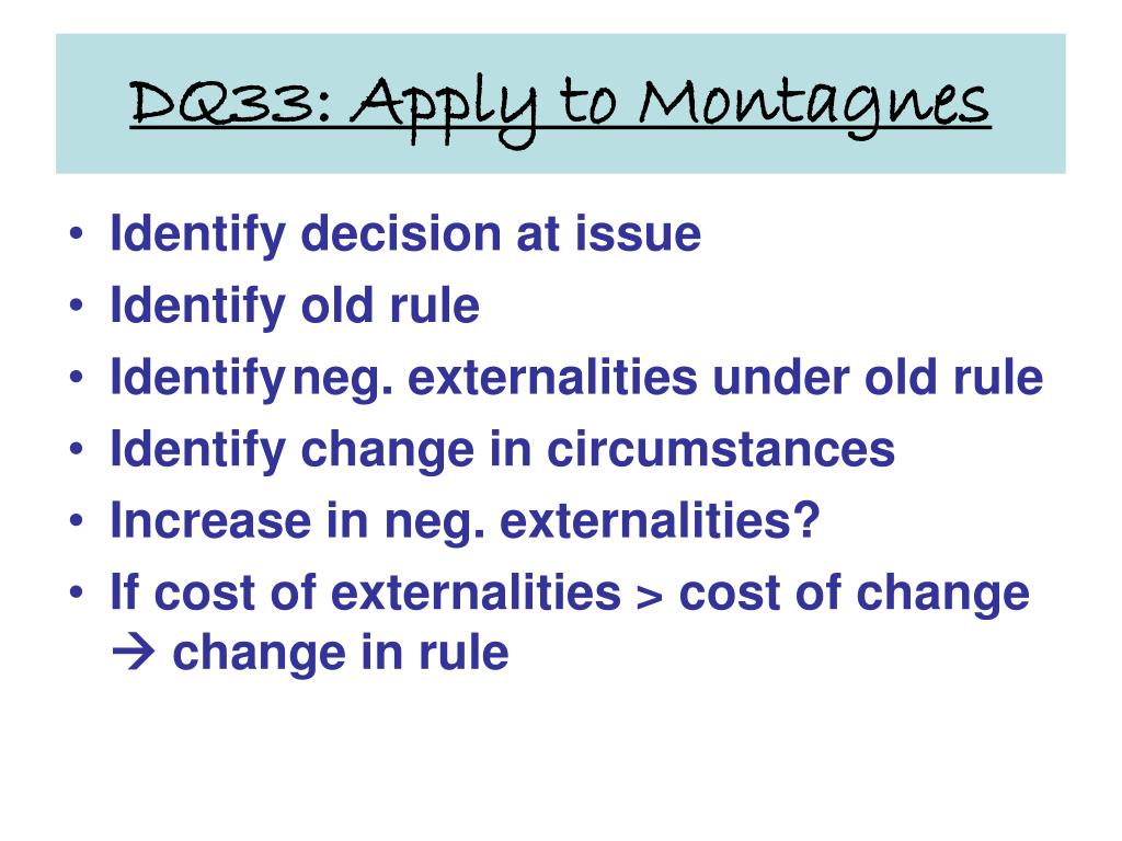 DQ33: Apply to Montagnes