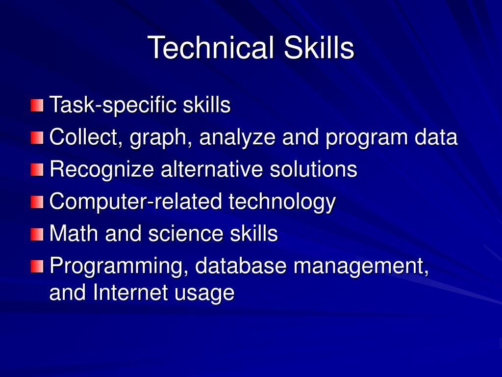 Technical Skills