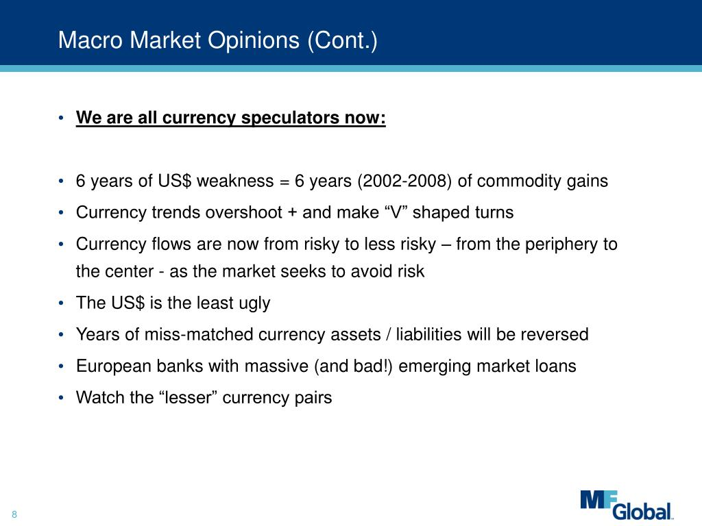 Macro Market Opinions (Cont.)