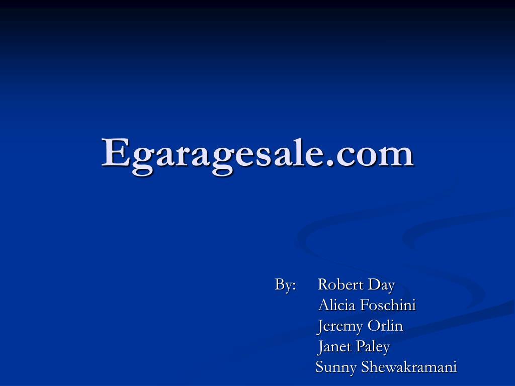 Egaragesale.com
