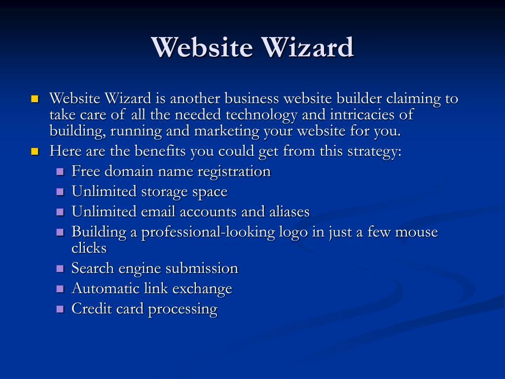 Website Wizard