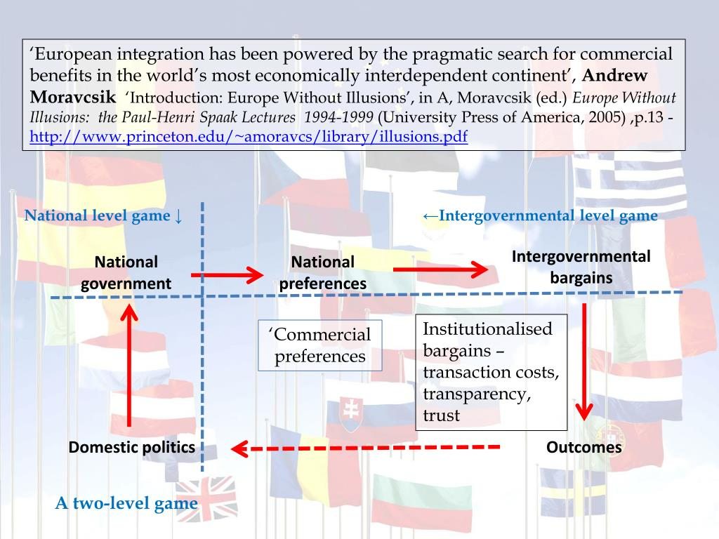 'European integration has been powered by the pragmatic search for commercial benefits in the world's most economically interdependent continent',