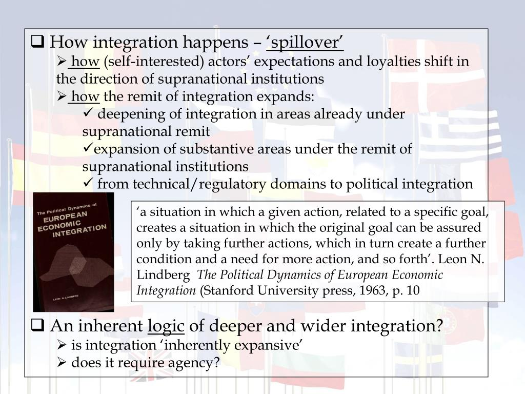 How integration happens –