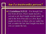 am i a trustworthy person70