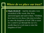 where do we place our trust39