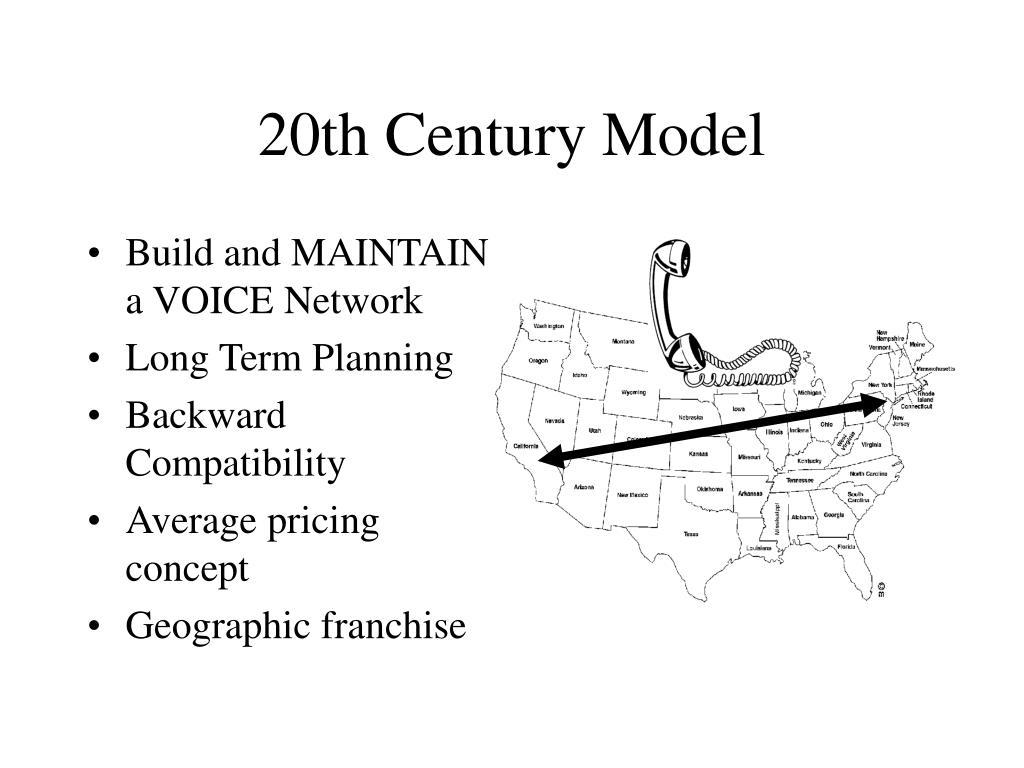 20th century model