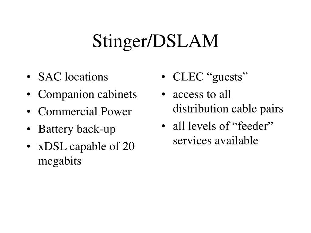 SAC locations