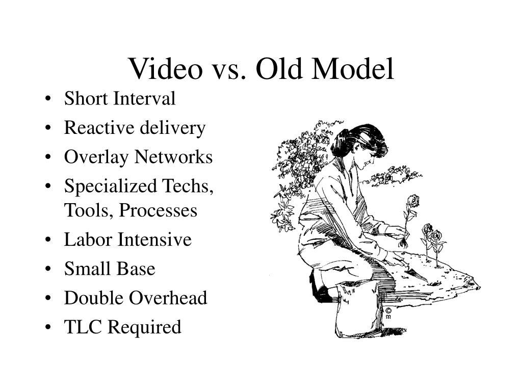 Video vs. Old Model