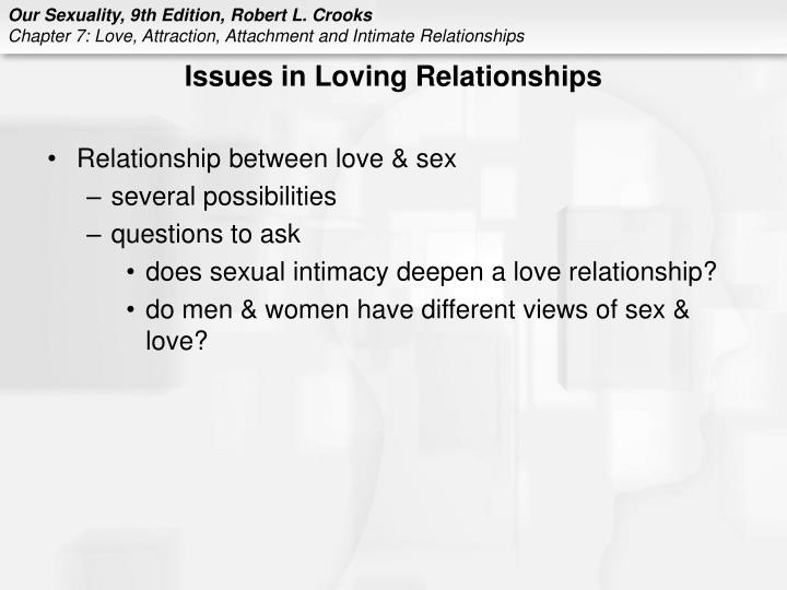 Issues in Loving Relationships