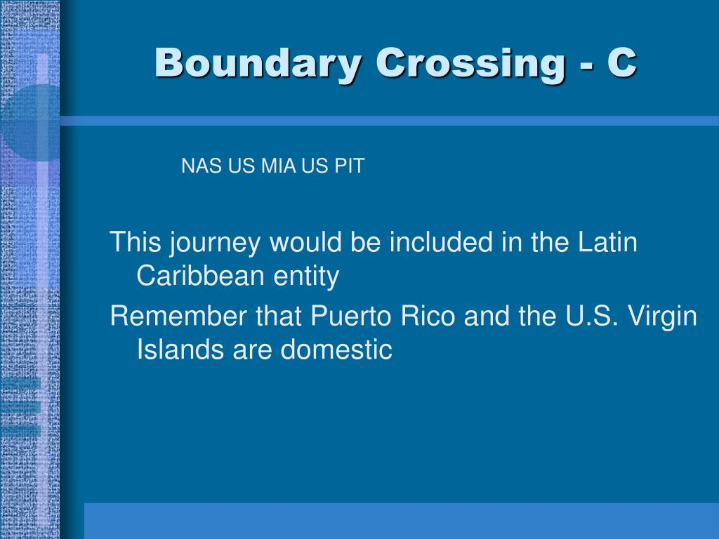 Boundary Crossing - C