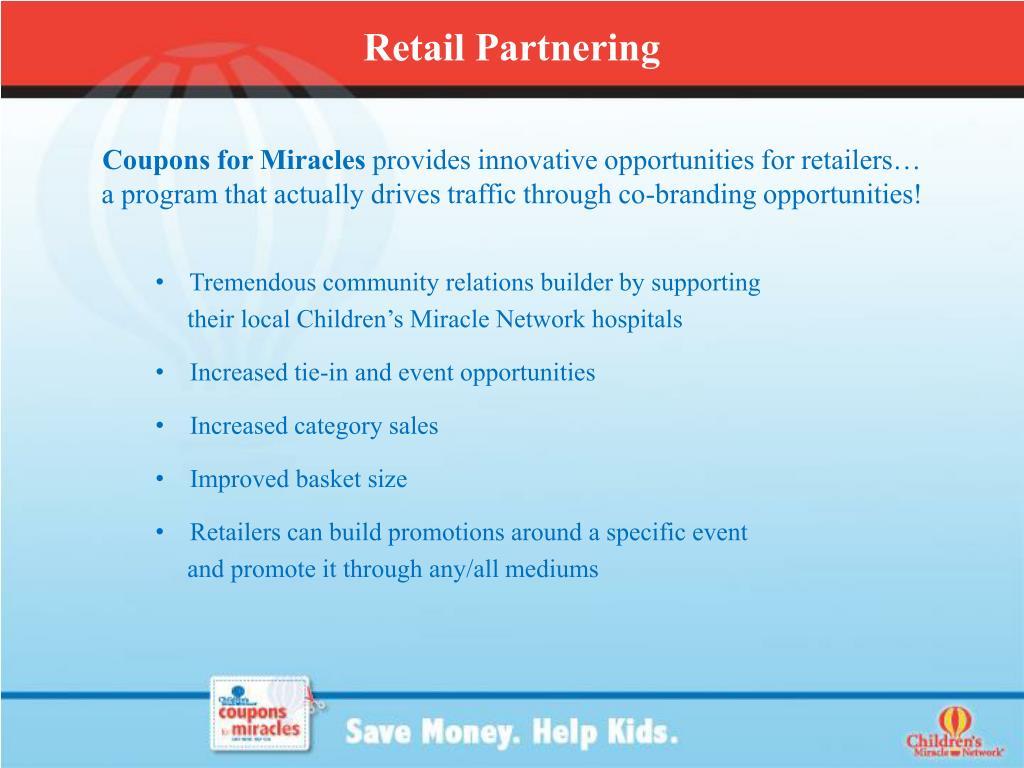 Retail Partnering