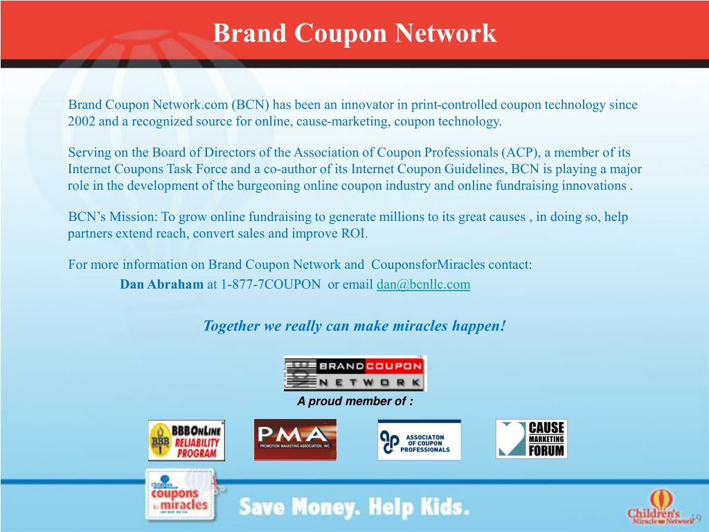 Brand Coupon Network