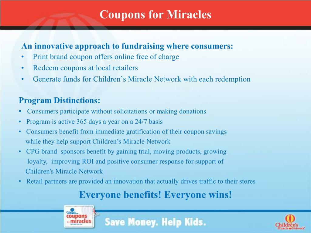 An innovative approach to fundraising where consumers: