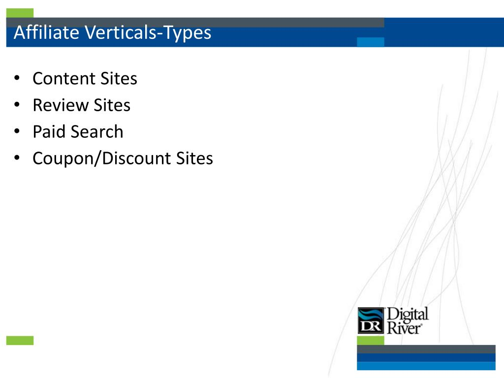 Affiliate Verticals-Types