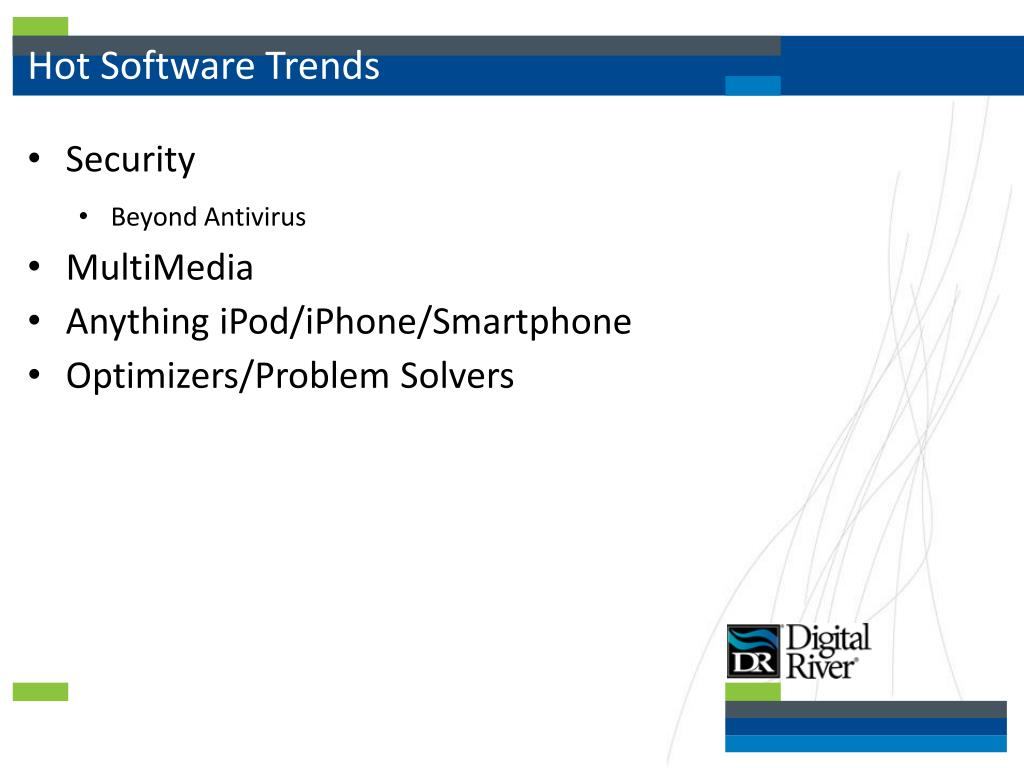 Hot Software Trends