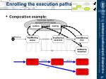 enrolling the execution paths