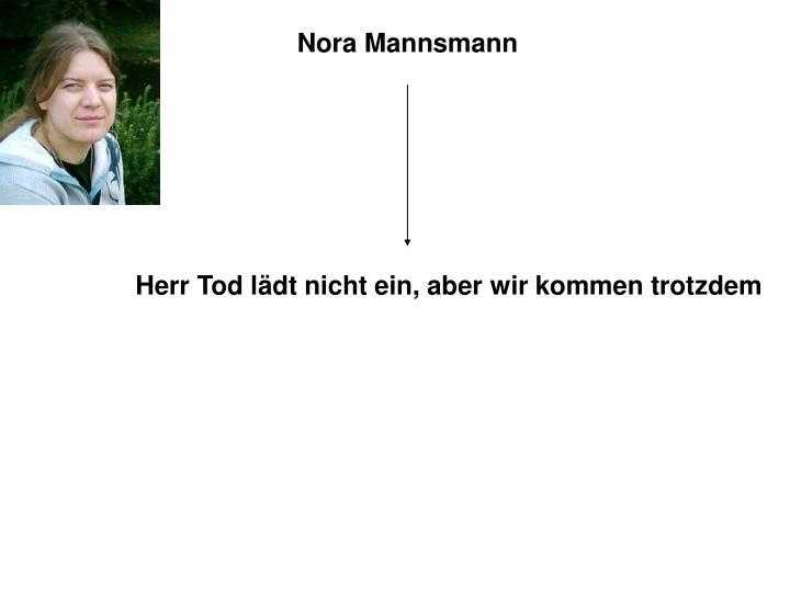 Nora Mannsmann
