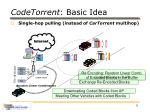 codetorrent basic idea