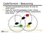 codetorrent beaconing