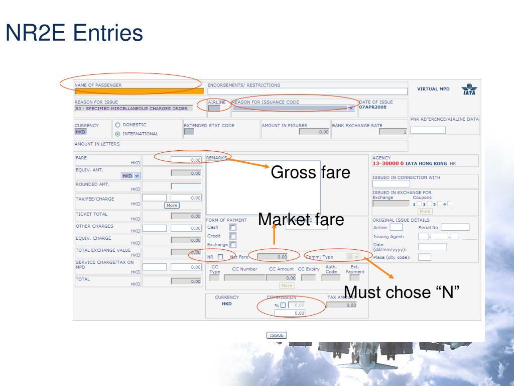 NR2E Entries