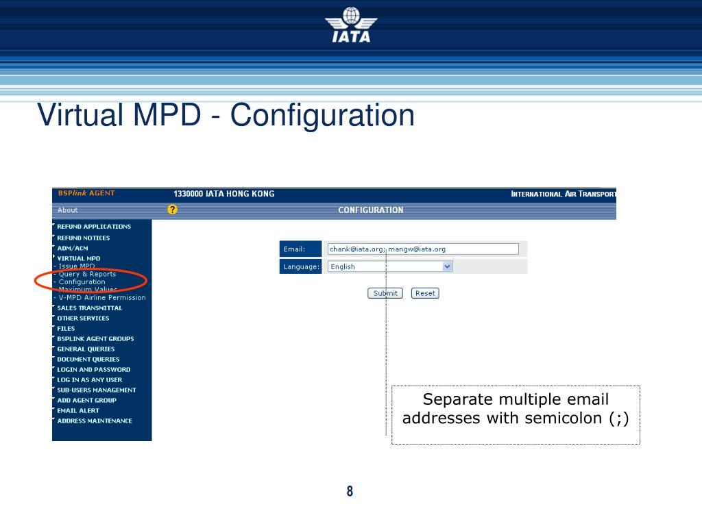 Virtual MPD