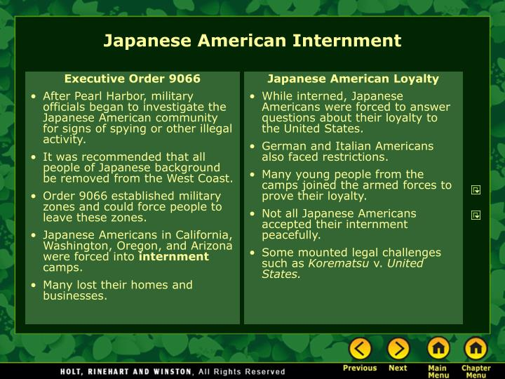 Executive Order 9066