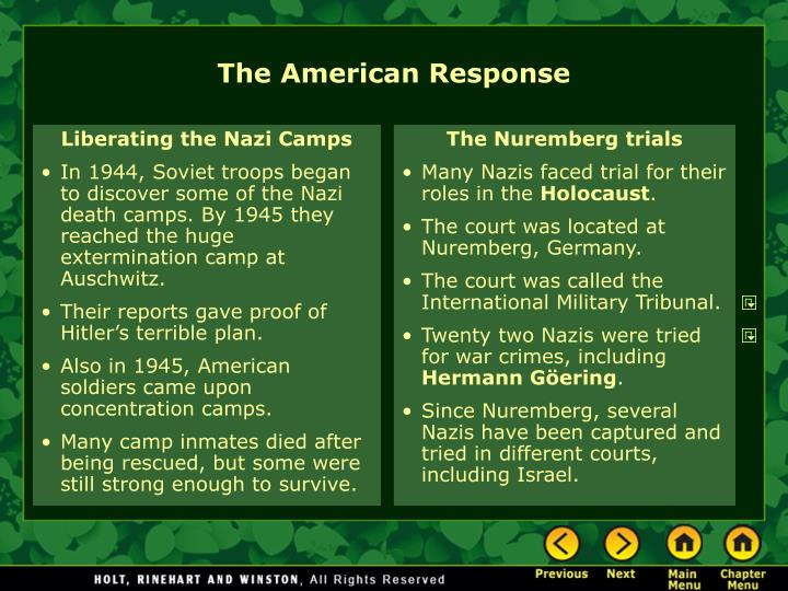 Liberating the Nazi Camps