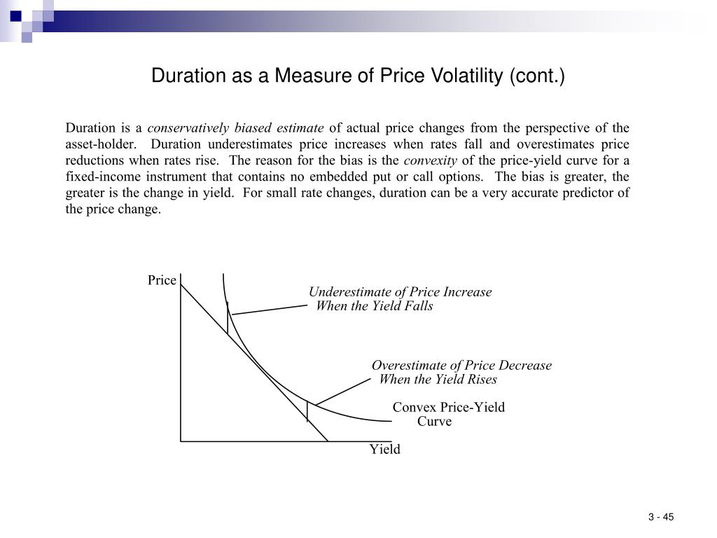 Duration as a Measure of Price Volatility (cont.)