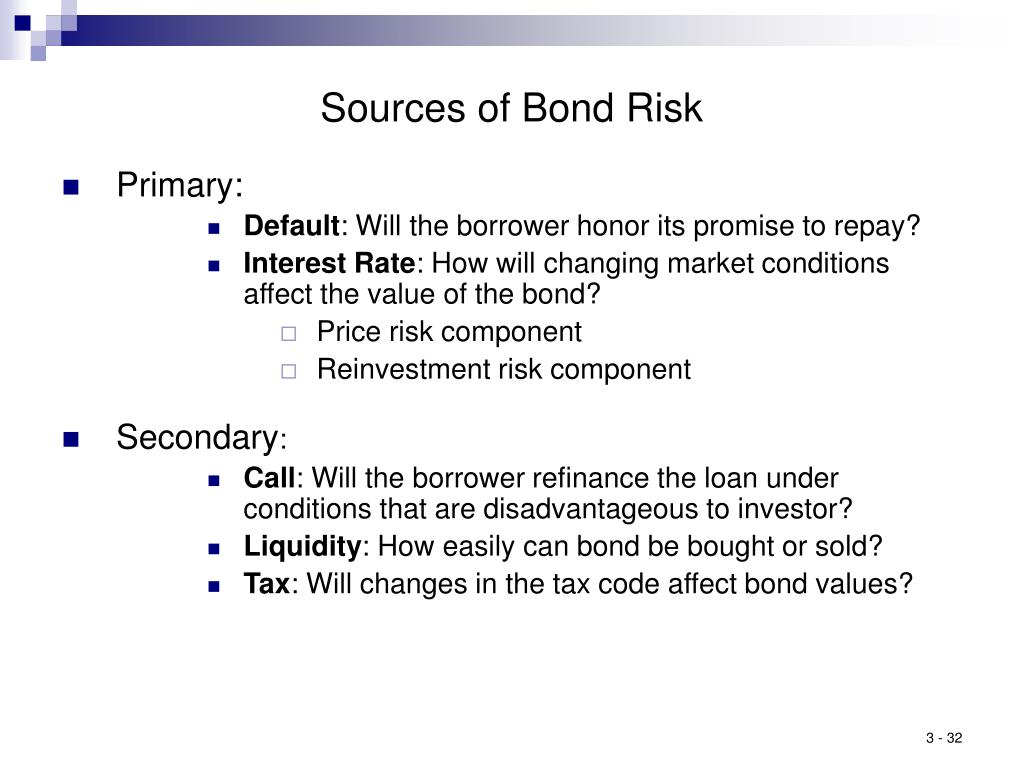 Sources of Bond Risk