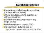 eurobond market