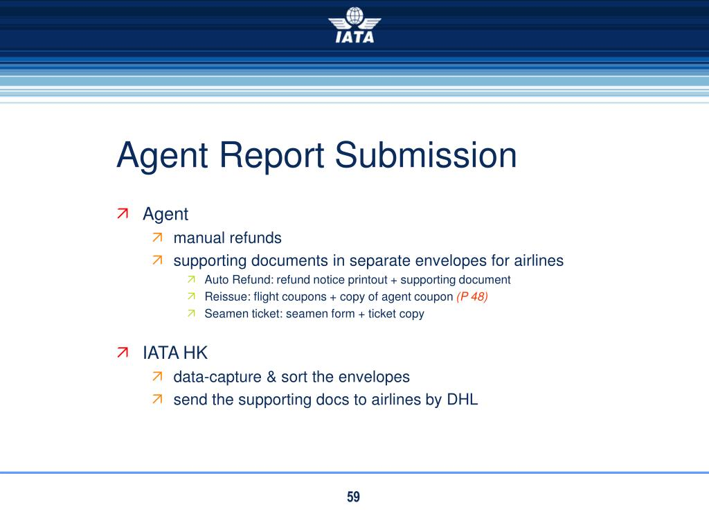 Agent Report Submission