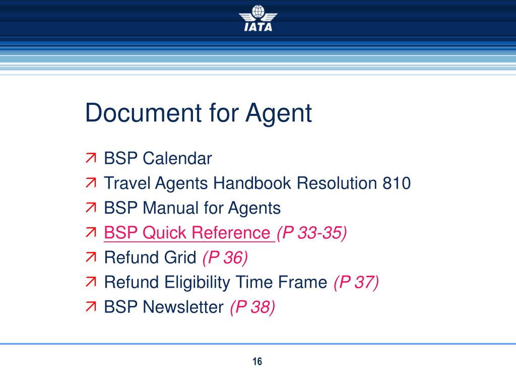 Document for Agent