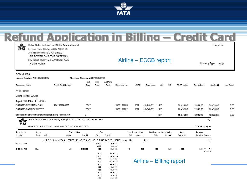 Airline – ECCB report