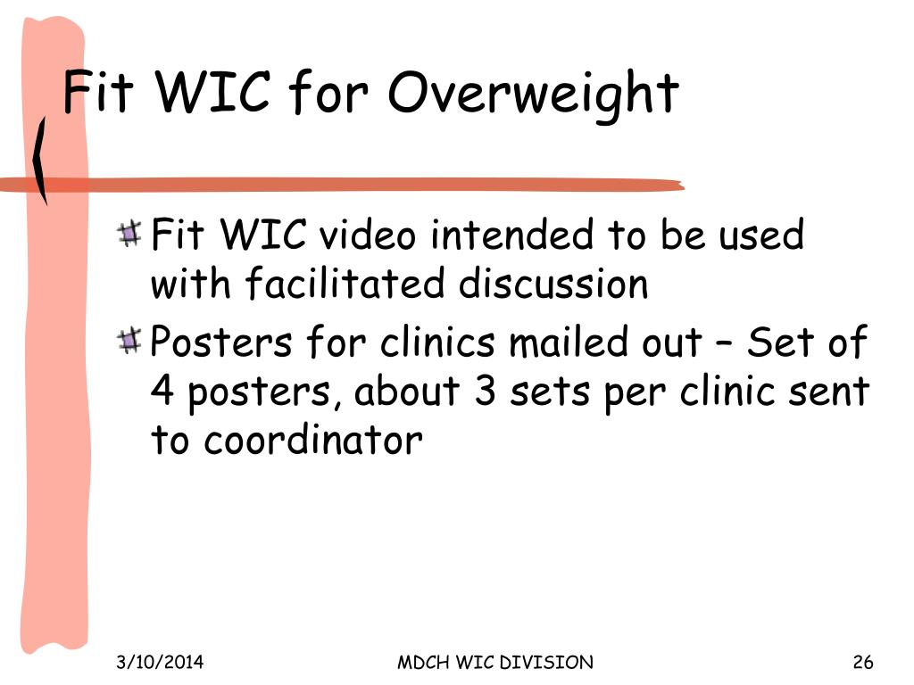 Fit WIC for Overweight