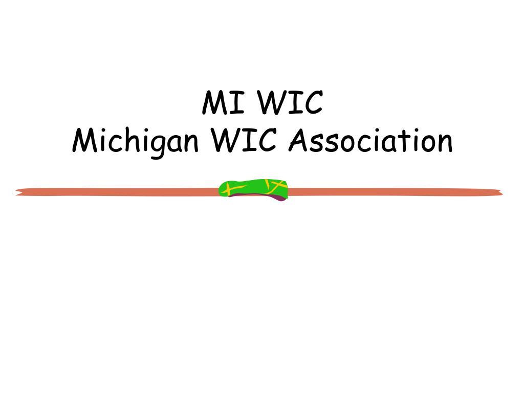 MI WIC