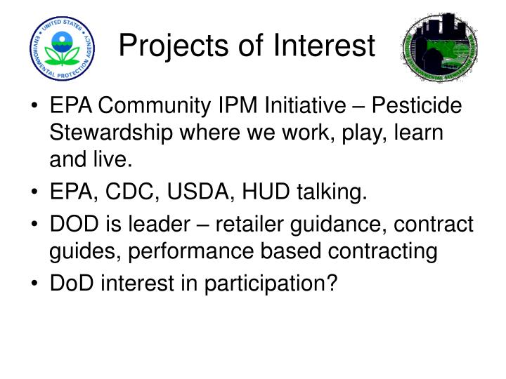 Projects of Interest