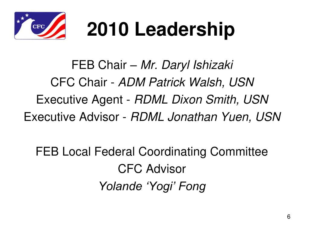 2010 Leadership