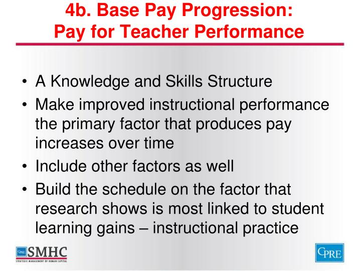 4b. Base Pay Progression:
