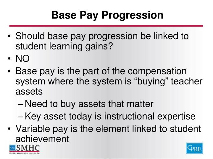 Base Pay Progression
