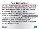 final comments1