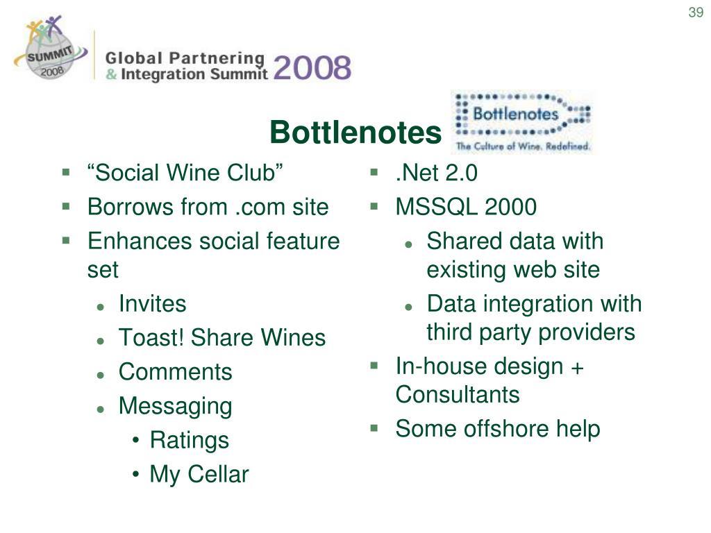 """""""Social Wine Club"""""""