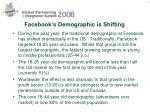 facebook s demographic is shifting