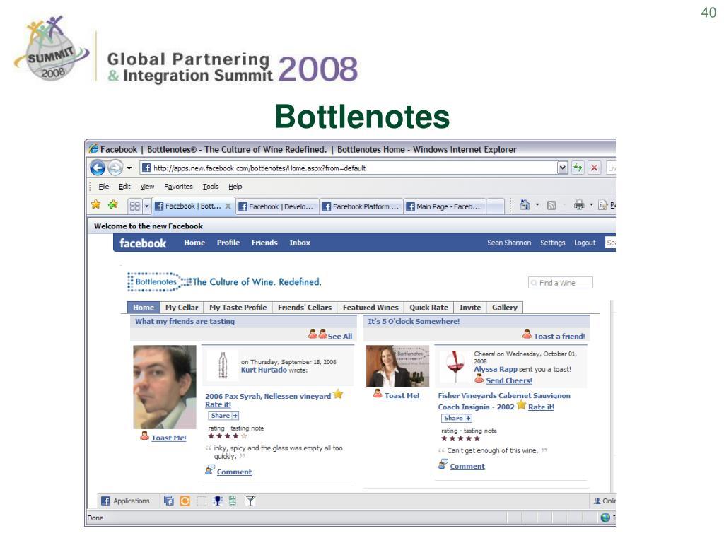 Bottlenotes