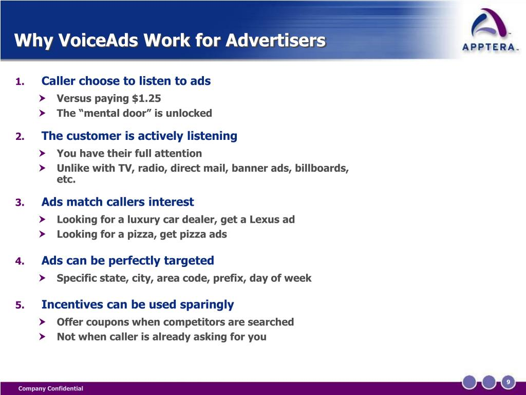 Why VoiceAds Work for Advertisers