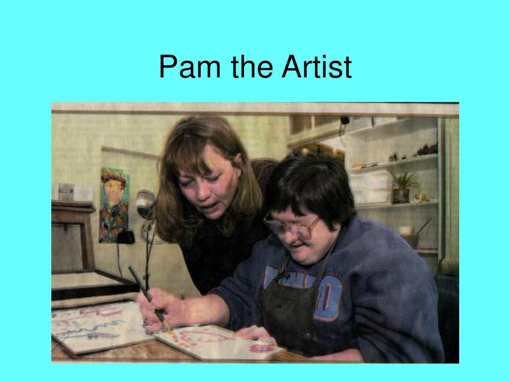 Pam the Artist