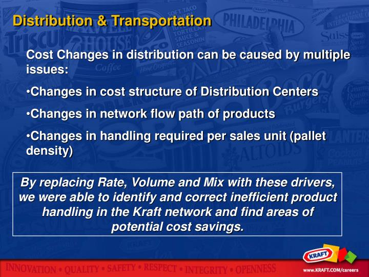 Distribution & Transportation